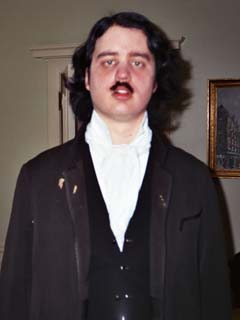 Just after bein' done up Edgar Allan Poe-style