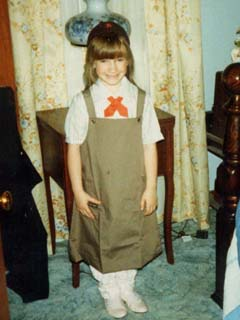 Little Courtney the Brownie!