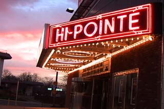 The historic Hi-Pointe Theatre