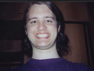 RØB after two weeks of no shaving, in Switzerland, early June 2003