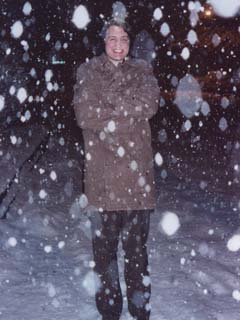 RØB in February 2003, outside of the Pepper Lounge, after a screening of Aaron CROZIER's movie GRUMBOON