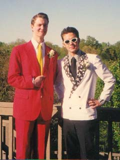 Senior Prom (May 1999) with Pat WESTON