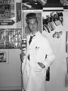 Day after Halloween 2003 (Mad Scientist!)--Didn't want to let the hair go to waste!