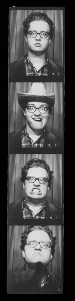 Photo Booth photos from a REAL photobooth (not a digital one)
